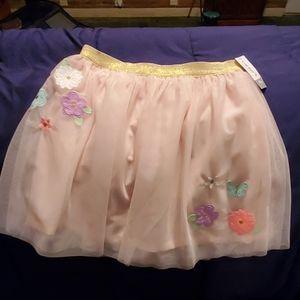 Carter's pink tutu size 10/12 nwts
